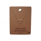 MUST HAVE gold triangle